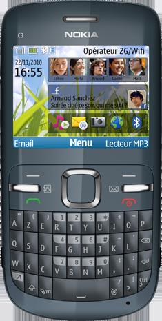 Nokia C3 Grey azerty | Telenet GSM + Mobiel abonnement