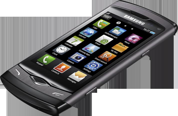 Samsung S8500 Wave Grey | Telenet GSM + Mobiel abonnement